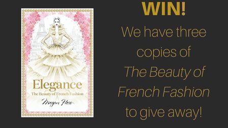 Win! The Beauty of French Fashion by Megan Hess