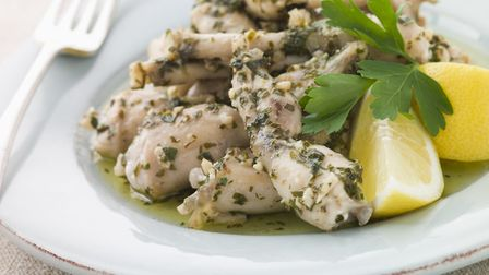 Frogs' legs in garlic and herb butter. Pic: Moneky Business Images/iStock/Getty