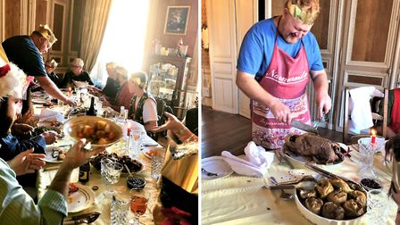 Vanessa and Matthew shared their first French Christmas with family and friends from around the worl