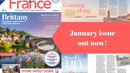 January 2020 issue of Living France is out now