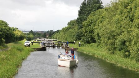 Locks in west Glasgow: currently operated by SC staff, and booked in advance (photo: Martin Ludgate)