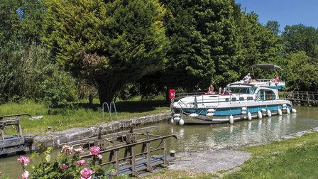 The Canal du Midi is one of the most famous spots for a French boating break. Pic: Philippe Benoist