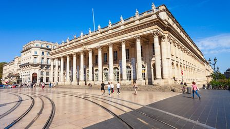 The magnificent Grand Theatre de Bordeaux is in the heart of the city ©saiko3p/Getty Images