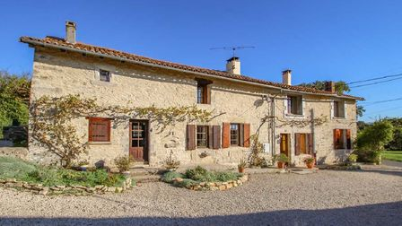 You could buy a gorgeous house like this in Charente for less than the equivalent of £150,000