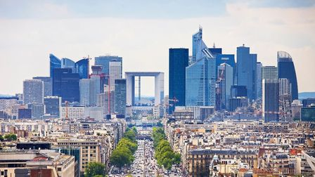 La Defense on the outskirts of Paris is a hub for international companies (c) StevanZZ / Getty Imag