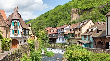 Kayserberg is one of Alsace's stunning villages (c) bbsferrari / Getty Imagese