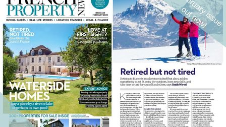The February 2020 issue of French Property News is out now!