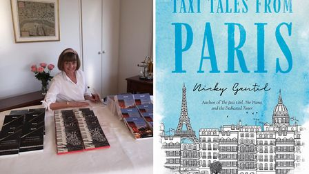 Expat author Nicky Gentil has written Taxi Tales from Paris