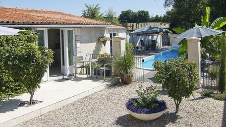 A luxury cottage for couples in Poitou Charentes. Picture: Brittany Ferries