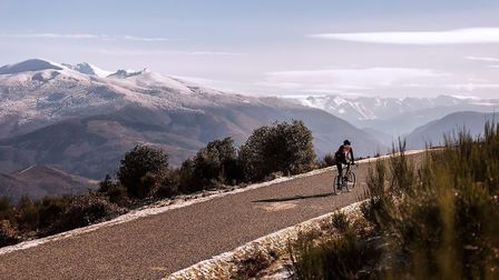 Mike organises cycling adventures in the Pyrénées (c) Tomas Montes