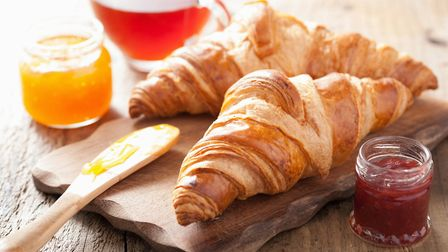 Croissants are a staple of French breakfasts ©Olga Miltsova Getty Images