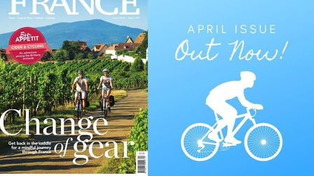 FRANCE Magazine's April issue - our cycling special - is out now