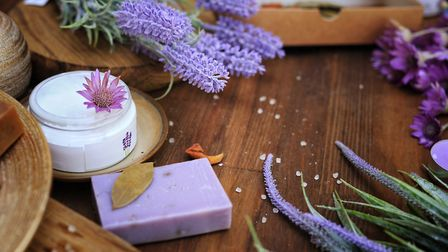 Lavender soap products