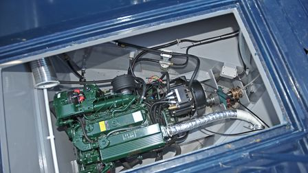 Top of the range system is based on a Beta 50hp plus a 10kw electric motor (photo: Andy R Annable)