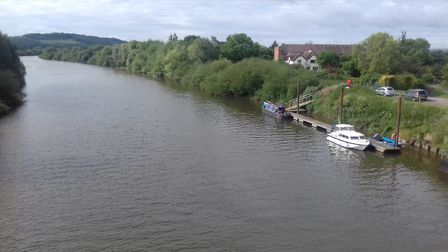 On the Severn, heading for the Sharpness and the Bristol Channel