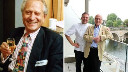 Michel Roux Snr worked with his brother Albert, son Alain (pictured) and nephew Michel Roux Jnr (pho