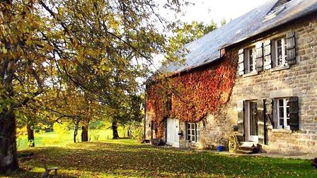 Peter and Ema's converted farmhouse in Creuse