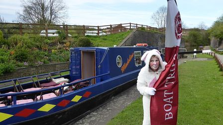 Easter cruises will be taking place on the Chesterfield Canal
