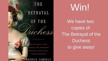 Win a copy of The Betrayal of the Duchess