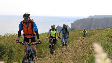 If those hills look too steep get some oomph from an electric bike (c) Codep ffct29