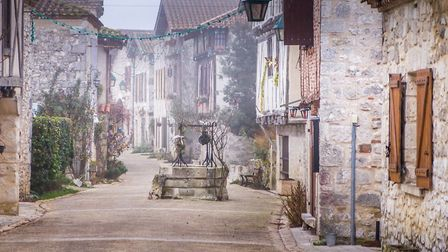 The medieval fortified town of Pujols in Lot-et-Garonne (c) jptinoco - Getty Images/iStockphoto