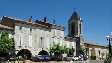 Puymirol: the oldest bastide in Lot-et-Garonne (c) Jacques Mossot - wikicommons