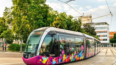Dijon is one of several French cities with trams (c) Leonid Andronov - Getty Images
