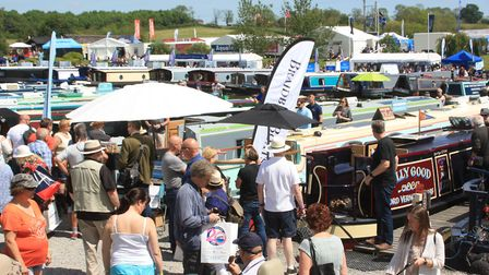 Crick Boat Show 2020 has been cancelled because of coronavirus (photo: Martin Ludgate)