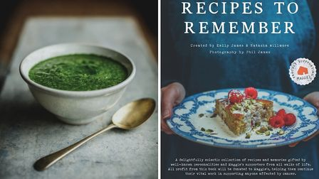 Maman Blanc's Watercress Soup from Recipes to Remember (c) Phil James