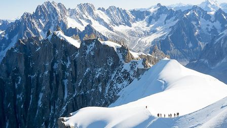 Tackle Mont Blanc from your sofa. Pic: icenando/Getty