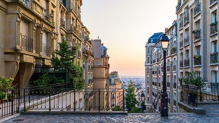 Montmartre's cute streets are made for exploring. Pic: DaLiu/Getty