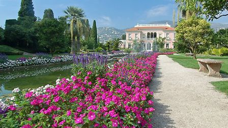 The gardens of Villa Ephrussi are gorgeous. Pic: mdeconinck/Getty