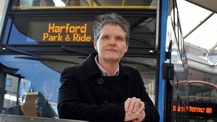 Tracy Jessop, assistant director of travel and transport at Norfolk County Council.