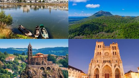 Who lives in these beautiful parts of France?