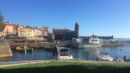 Radiant Collioure in the sunshine