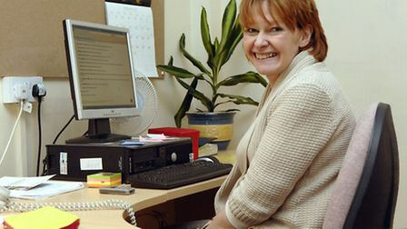 Melinda Derry pictured in 2009 when she took over as headteacher at Stalham High School.