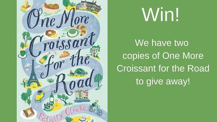 Enter the FPN book competition to win a copy of One More Croissant for the Road