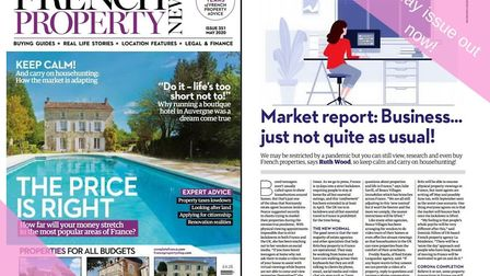 The May 2020 issue of French Property News is out now!