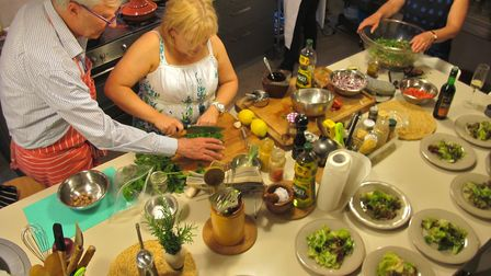 In addition to writing books Robin has also run numerous cookery workshops ©Meredith Wheeler