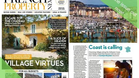 The June 2020 issue of French Property News is out now!