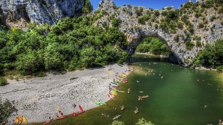 Pont d'Arc over the Ardeche River (c) RolfSt / Getty Images