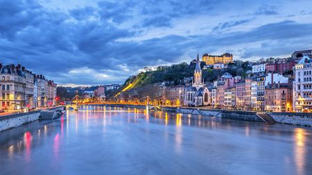 An evening on the Saone in Lyon (c) vwalakte / Getty Images