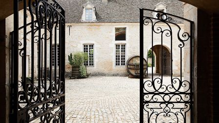 The chateau welcomes visitors from across the world on tours
