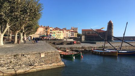 The picturesque seaside town of Collioure