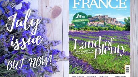 The July issue of FRANCE Magazine is out now