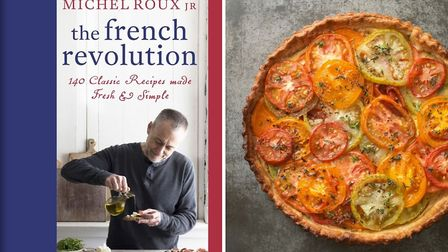Tomato Tart from The French Revolution by Michel Roux Jr (Orion Publishing Group)
