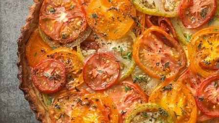 Tomato Tart from The French Revolution by Michel Roux Jr. Photography by Cristian Barnett