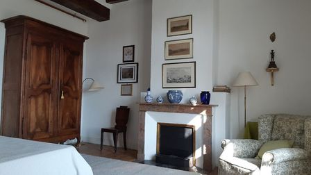 One of the gîte bedrooms