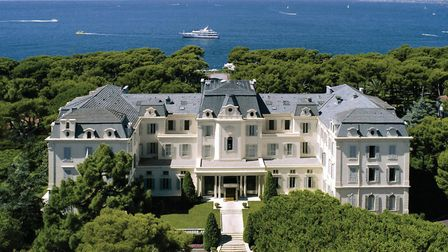 The iconic hotel is set in 22 acres of parkland on the southern tip of the Cap d'Antibes