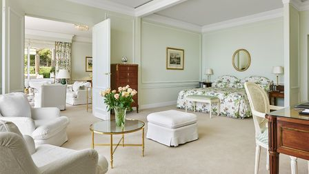 One of the spacious suites